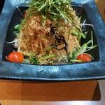 魚撃 - 大根さっぱり和風サラダ
