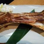 魚撃 - マグロのカマ塩焼き