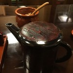 あさだ - 蕎麦湯はトロみが付いています。
