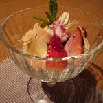 メルロ・パノニカ - 自家製豆乳アイスクリーム