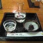 7613798 - 日本酒とそば味噌