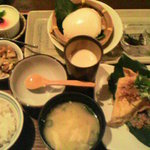 大塚豆腐の台所 - 豆腐定食@1,200