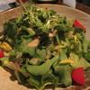 鉄板ダイニング心家 - 料理写真:「心家サラダ」クリスタルリーフ使用