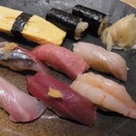 魚こう鮨 - ランチにぎり 1000円