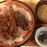 76130517 - 天丼(大盛) ¥750
