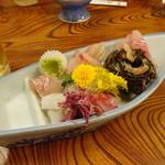 割烹 魚仙 - おまかせ盛合わせ1500円