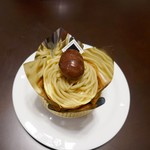 かぎや菓子舗 - 料理写真:金のモンブラン