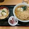 かのや - 料理写真:カツ丼セット(そば)690円