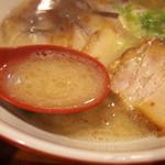 麺也オールウェイズ - 2017年11月 スープ