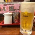 麺也オールウェイズ - 2017年11月 生ビール