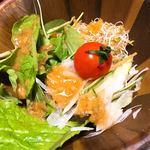 仙郷楼 - サラダ