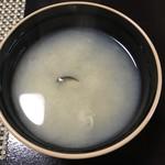 仙郷楼 - 味噌汁