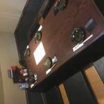 スミビヤ シンゴ - 掘りごたつのテーブル席
