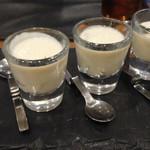 レネ - アミューズ クリームチーズの温仕立て ◎
