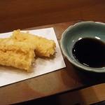 76139279 - セルフ穴子天丼用に丼タレも。