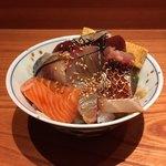 魚匠 もとき - 料理写真:海鮮めしじゃなく 手ごね寿司と言ってました