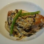 ローデヴィーニュ - メイン さつま鶏のクリーム煮