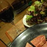 済州島 - 葡萄酒・肉・野菜