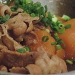 月光食堂 - 牛バラ肉とカボチャの煮物 アップ