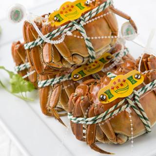 旬の上海蟹が10月~販売開始!