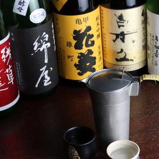 レアな銘酒も半合からお気軽に◎蕎麦とお酒と粋な時間を…