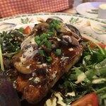 キャセロール - ★★★☆ お魚ランチ ソースが美味しい!お野菜もたっぷり