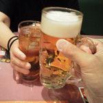 萬福大飯店 - 今回も私は生中、当店アシスタントはウーロン茶です