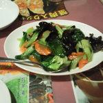 萬福大飯店 - 野菜炒め(名前が違うかも・・・)