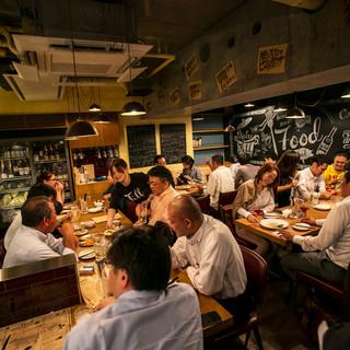 【宴会最大61名様】西新宿のエナジースタンド