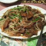 萬福大飯店 - ニラレバ炒めはドカ盛り
