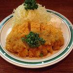 洋食エリーゼ - ロースカツおろしポン酢