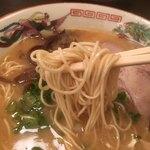 山形屋西洋酒場 - ラーメン 麺リフト〜(*^▽^*)❤️