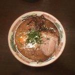 山形屋西洋酒場 - 熊本風豚骨ラーメン〜(*^▽^*)❤️
