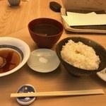 天ぷら懐石 いせ - お食事