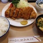 76165193 - ロースカツ定食 1,600円