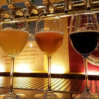 7種類のクラフトビール