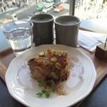コモン ギンザ - 珈琲とアップルモンキーブレッドパイ