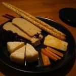 フゼラフ! - チーズ盛り合わせ