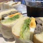 サンドイッチの店3 - エッグソーセージ