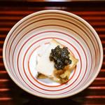 松川 - 鮑とキャビア飯蒸し