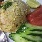 チェンマイ - 海老入り焼飯