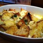 今日和 - パンとチーズのクリームグラタン