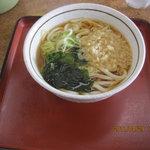 山田うどん - たぬきうどん240円