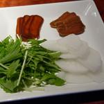Ginzasakabamaruhachi - ボラの唐墨、ブリの味噌漬け