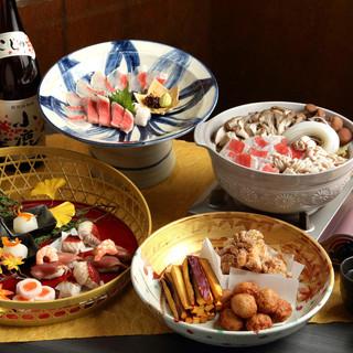 ◎この冬一押し◎【金目鯛と白子の贅沢鍋コース】