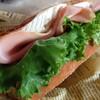 ブーランジェリー リール - 料理写真:ハムとカマンベールのバケットサンド
