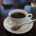 スパニッシュイタリアンロカルウノ - ホットコーヒー
