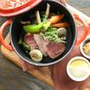 フォーチュンガーデンキョウト - 料理写真:仔羊と旬野菜のスパイスロースト