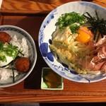 野らぼー - 本日の定食@850円