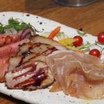 【おすすめ】厳選肉の前菜3種